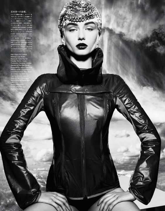 the extreme sports: andreea diaconu by solve sundsbo for vogue japan march 2013 | visual optimism; fashion editorials, shows, campaigns & more!