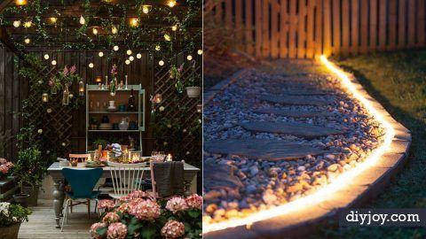 41 Diy Outdoor Lighting Ideas Diy Outdoor Lighting Diy Outdoor Backyard