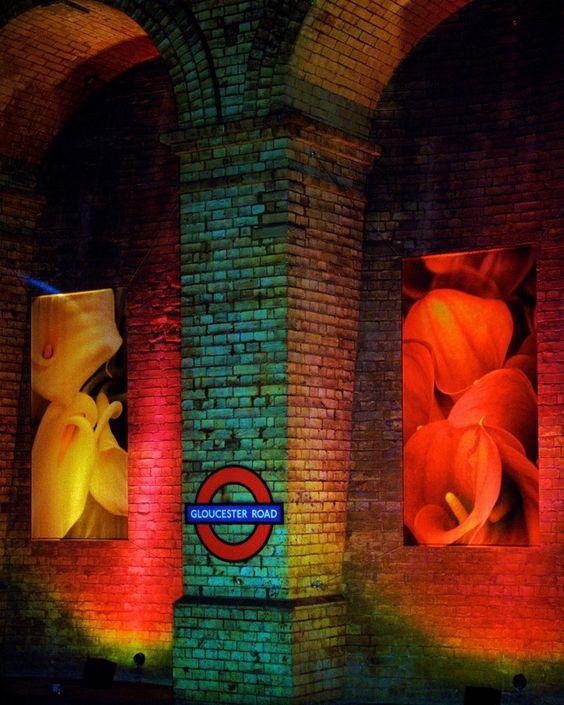 Gloucester Road Station by Jeff MorleyRainbow / Arc-en-ciel /Arcobaleno /レインボー /Regenbogen / Радуга : FOSTERGINGER @ Pinterest