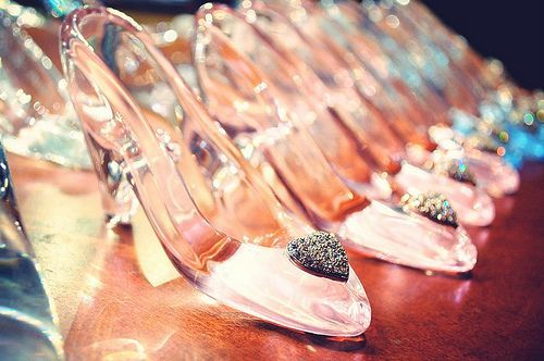 Real Cinderella shoes....life is complete...