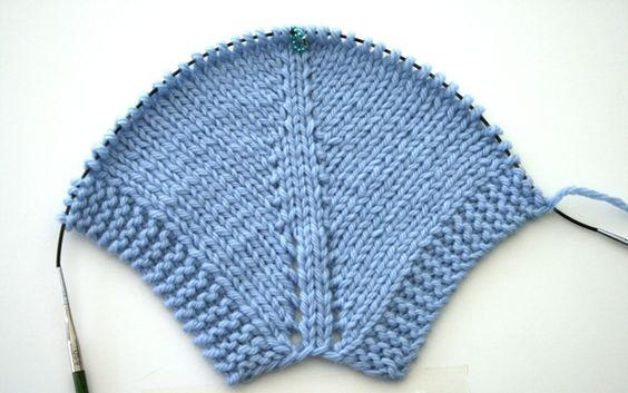 Knitting Help - Comparing Increases - v e r y p i n k . c o m - knitting patterns and video tutorials