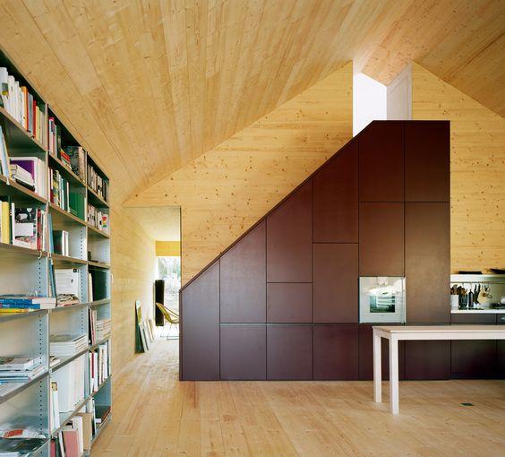 WOHN- UND ATELIERHAUS, BÜSSERACH / Degelo Architekten
