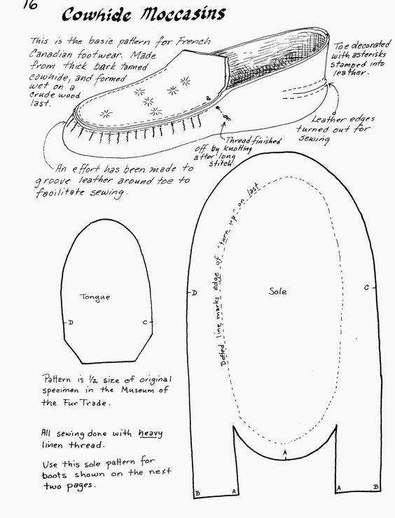 pattern more diy shoes moccasins pin good ideas moccasin pattern ...