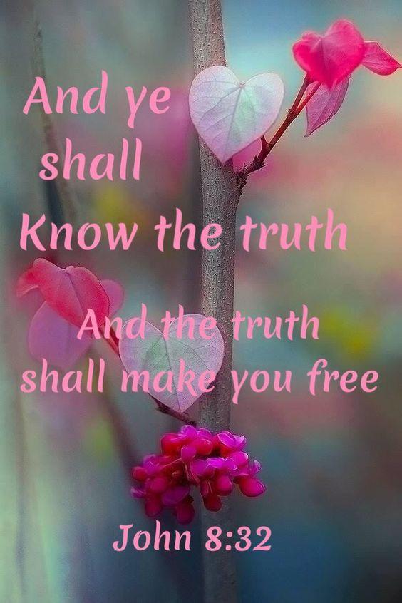 John 8:32 King James KJV