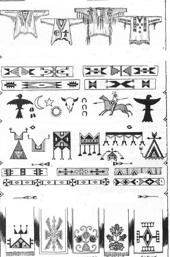 indianer cheyenne indianische piktogramme und symbole 2. Black Bedroom Furniture Sets. Home Design Ideas