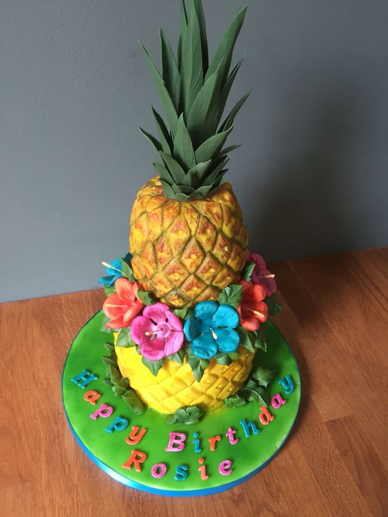 pineapple shaped cake the world s catalog of ideas 6546