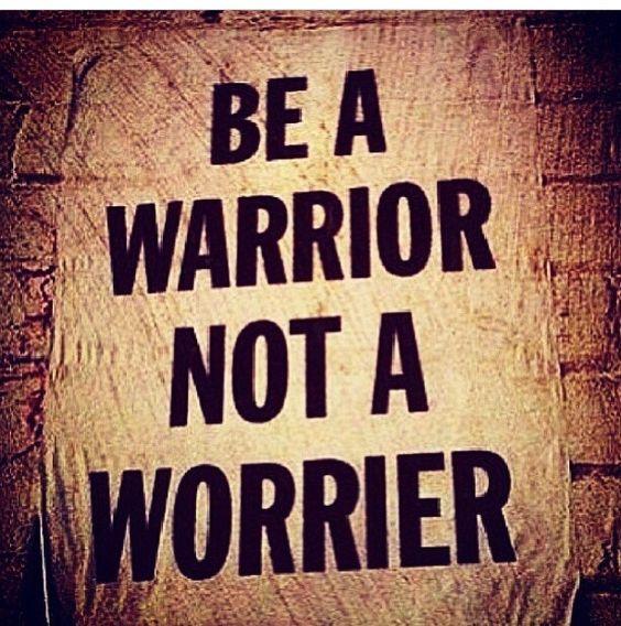 Prayer Warrior Not Worrier....