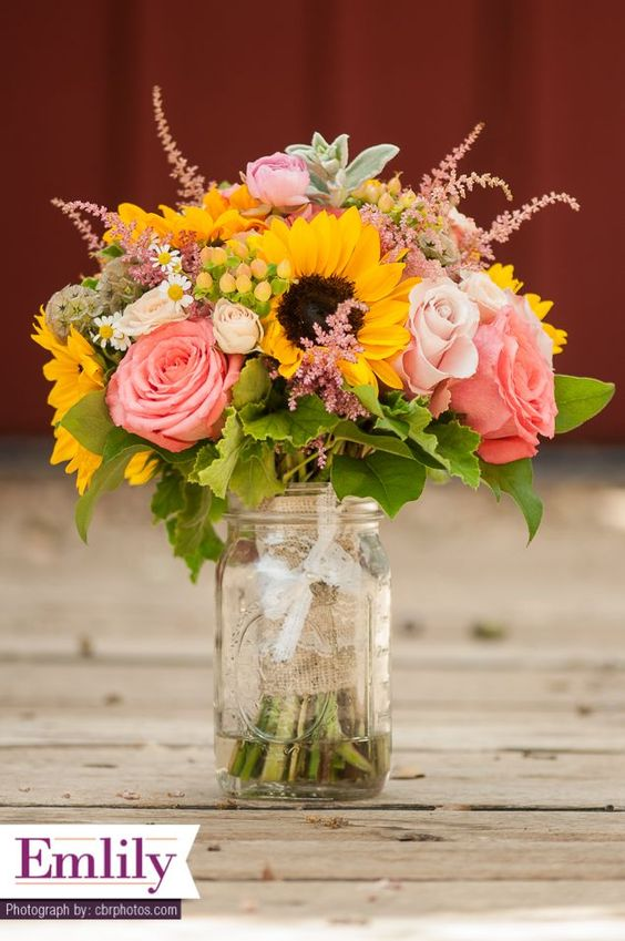nice country wedding flowers best photos                              …