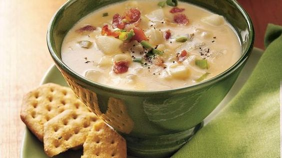 Pillsbury Slow Cooker Cheesy Potato Soup...yuummmm
