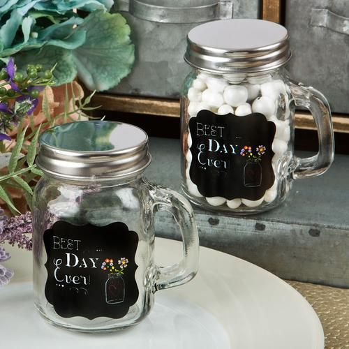 Sayings Collection Best Day Ever Glass Mason Jar Mason Jar Wedding Favors Mason Jar Favors Wedding Favour Jars