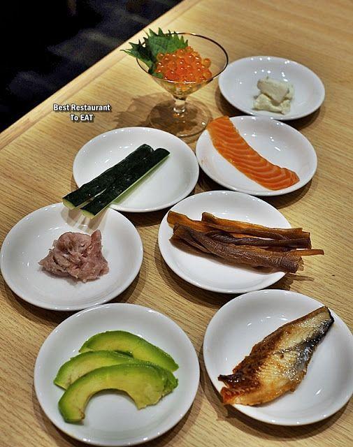 Umai Sushikan Lot 10 J S Gate Dining Make Your Own Sushi Promotion Make Your Own Sushi Vegetarian Platter Food Blog