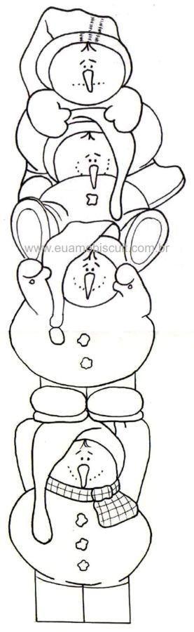 Snowmen coloring page christmas coloring pages pinterest snowman