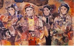 M'hamed Issiakhem (1928-1985) (en kabyle: Muḥand Isyaxem) est l'un des fondateurs de la peinture moderne en Algérie.