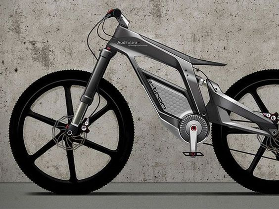 Electric bike by Audi