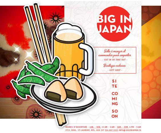 Big In Japan: Japanese Nightlife, Montreal, Japan Restaurant, Mtl Restos, 3723 Boul, For, Japanese Restaurant