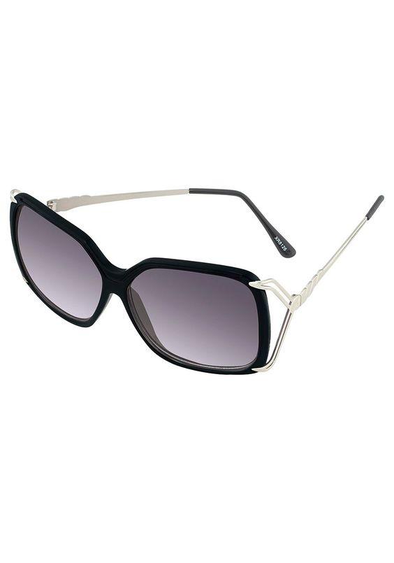 Produkttyp , Sonnenbrille, |Material der Bügel , Metall, |Material der Fassung , Kunststoff, |Farbe Bügel , silberfarben, |Farbe Fassung , schwarz, |Farbe Gläser , schwarz, |Glasart , Polycarbonat (bruchfest, kratzsicher), |CE Wert , 3, |Blendschutz , Hoch, |UV Schutz , 100% UV-Schutz, | ...