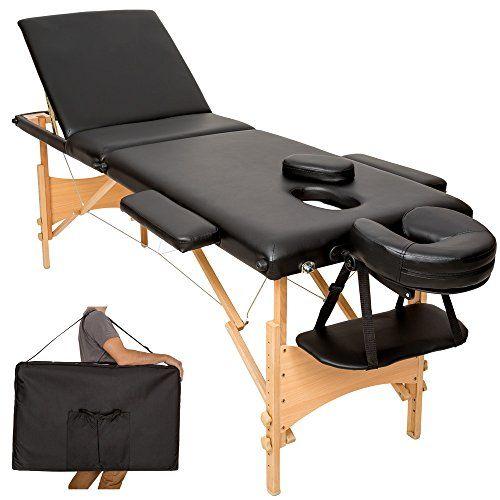 lilas ovale pliante Confort Table de Massage Pro Luxe