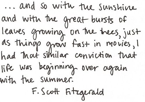 THIS!: The Great Gatsby, Quote Fscottfitzgerald, L'Wren Scott, Favorite Quote, F Scott Fitzgerald, Fav Quotes, Fitzgerald Summer, Summer Quotes, Scott Fitzgerald Quotes