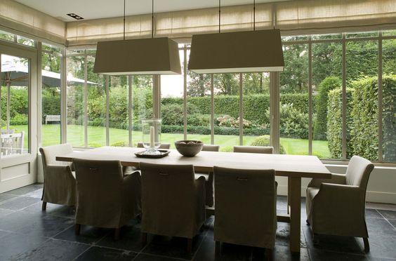 Exclusive villa construction vlassak verhulst salon for Interieur cours nice