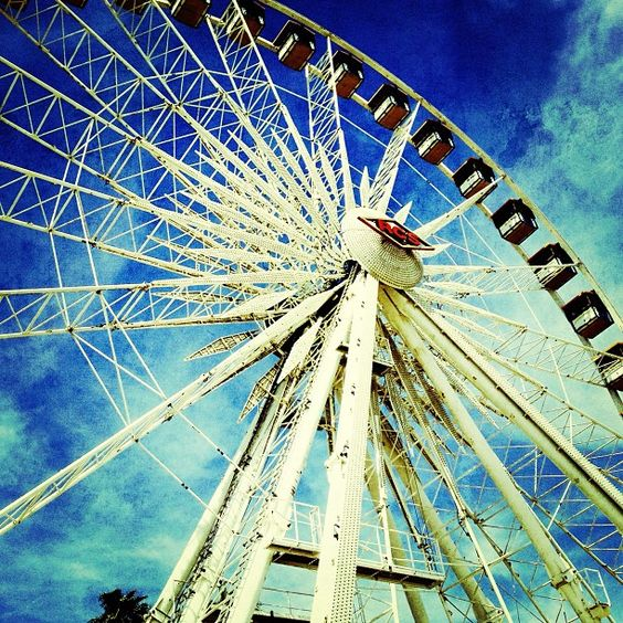 #Big -- #Coachella2013 #blue #ferriswheel #epicca #visitca