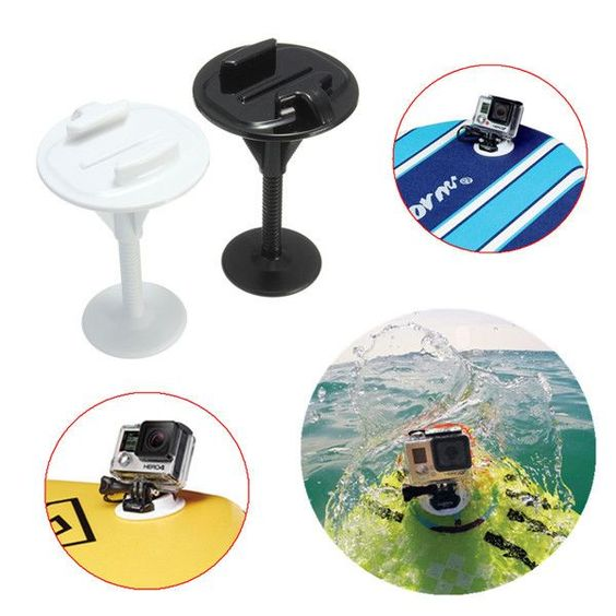 D, Bodyboard Stand Up Paddle Foam Surfboard Mount For GoPro 3 3 Plus 4 Xiaomi Yi