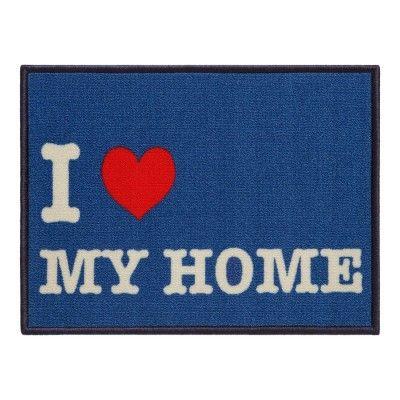 Capacho - Tapete para porta Toc Toc My Home 40x60cm Retangular  - AROEIRA HOME