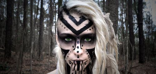 pagan face paint - Google Search