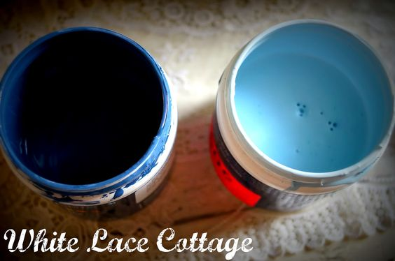 White Lace Cottage: Chalk paint- Booth- Birthday