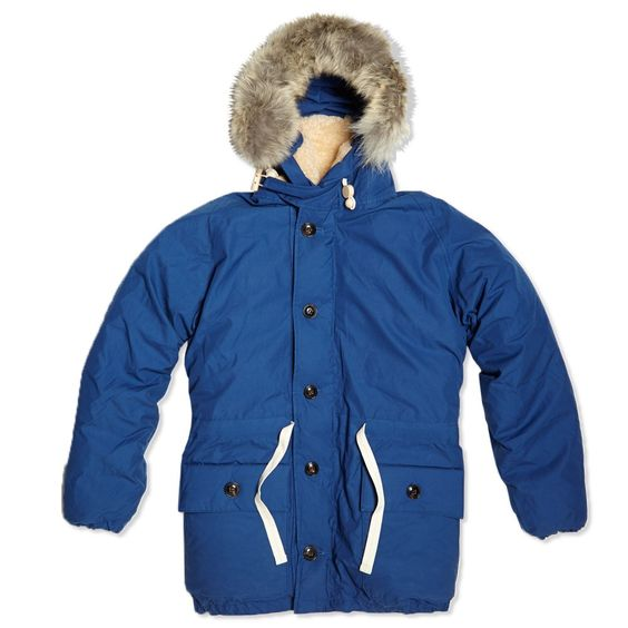 Canada Goose womens sale store - Nigel Cabourn Everest Parka (Indigo) | Autumn/Winter 15/16 ...