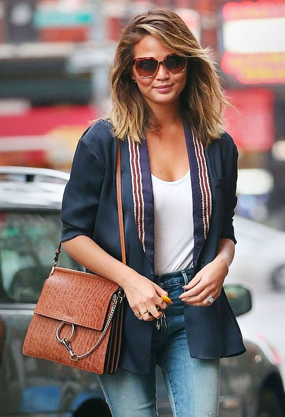 chloe bags prices - Chrissy-Teigen-Chloe-Faye-Bag-Tan | Arm Candy | Pinterest | Chloe ...