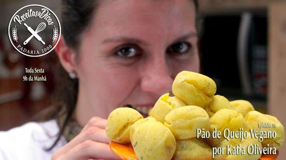 Pão de Queijo Vegano - Receitas e Dicas - Episódio 16 - por Katia Oliveira