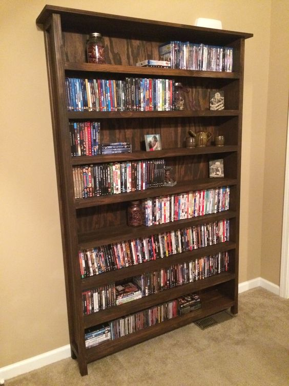 Diy Movie Shelf My Own Masterpieces Pinterest