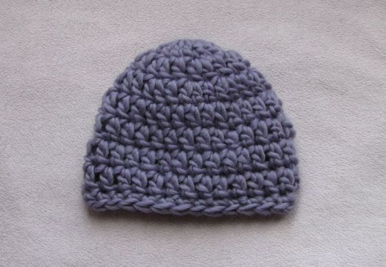 Crochet Baby Hat Tutorial Step By Step : Hat tutorial, Baby hats and Easy crochet on Pinterest