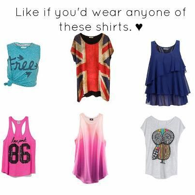 like if you would ware any of these