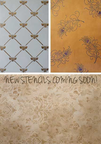 We have some new wall stencils we will be releasing over the next couple of weeks. :) Royal Design Studio-check it!