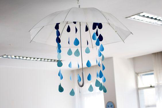 baby shower, umbrella, deco, chá de fraldas, chuva, guarda-chuva, decoração infantil