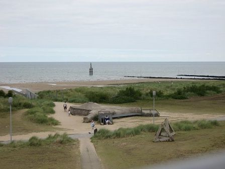 d day beaches near caen