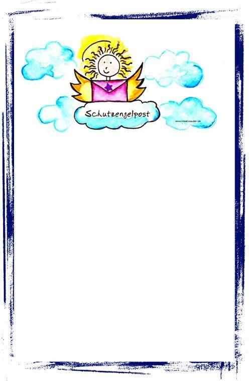 Digitales Briefpapier Ausdrucken Kreativzauber Bastelblog Mit Vielen Vorlagen Anleitungen Und Ideen Briefpapier Zum Ausdrucken Briefpapier Ausdrucken