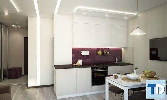 Phòng bếp với các thiết bị tiện nghi cao cấp
