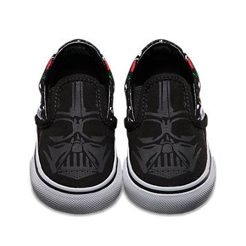 Star Wars Slip-On | Shop Toddler Shoes at Vans. Amazing the boys need!!