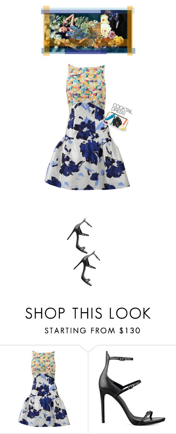 """Mixed Patterns'"" by dianefantasy ❤ liked on Polyvore featuring Shin Choi, Dolce&Gabbana, Oscar de la Renta, Kendall + Kylie, Paul Smith, cocktaildress and polyvoreeditorial"