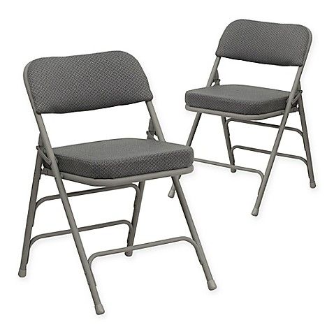 Flash Furniture Hercules Padded Folding Chairs Set Of 2 Bed Bath Beyond Metal Folding Chairs Padded Folding Chairs Folding Chair