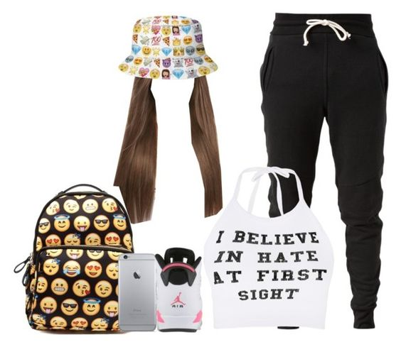 """""""summer school"""" by bands-are-all-i-need ❤ liked on Polyvore featuring John Elliott and O-Mighty"""