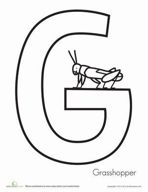 grasshoppers worksheets and preschool on pinterest. Black Bedroom Furniture Sets. Home Design Ideas