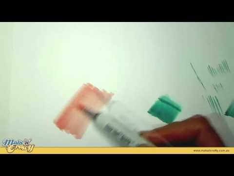 watched good video Basic copic coloring techniques - flicking, fine hair, multiple blending techniques