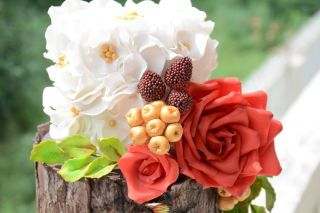 Exotic Garden Themed Wedding Cake <3 <3 <3