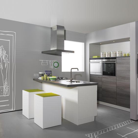 Compacte Keuken Met Eiland : van stijlen. Zelfs is een compacte woonruimte past een eiland keuken