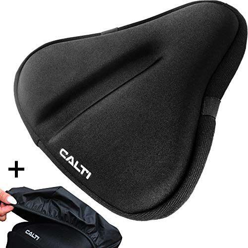 Beach Cruiser Black Bike Saddle Cycling Bicycle Seat Comfortable Soft Cushion