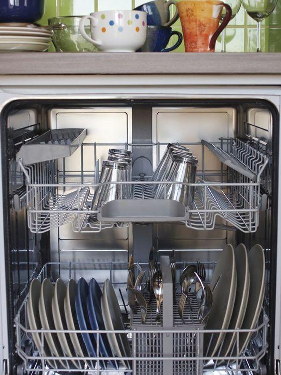 pour nettoyer le lave vaisselle m langer deux cuill res soupe de bicarbonate et une cuill re. Black Bedroom Furniture Sets. Home Design Ideas