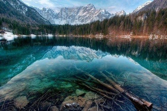 Transparent lake !